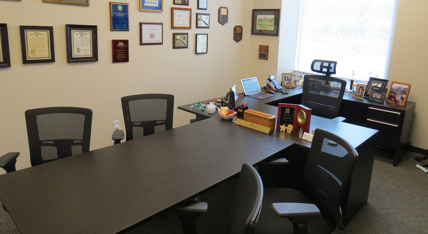 Bob's Office Florida Private Trials and Mediation